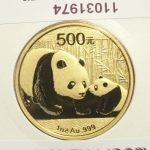 Réf. 11031974 Panda 1 once  2011 - REVERS