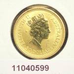 Australian Nugget 1/2 once 50 Dollars Kangourou 1992