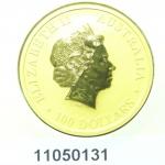Australian Nugget 1 once 100 Dollars Kangourou 2011