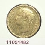 Réf. 11051482 Napoléon 40F  Napoléon 1er tête laurée, république française - REVERS