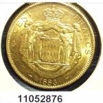 Réf. 11052876 Prince de Monaco 100 Francs Charles III - REVERS