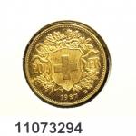 Réf. 11073294 20 Francs Suisse  Vreneli - REVERS