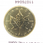 Réf. 11076044 Maple Leaf 1 once - 50 Dollars   Elizabeth II - 9999 - REVERS