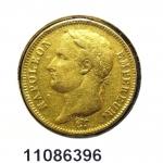 Réf. 11086396 Napoléon 40F  Napoléon Ier Tête Laurée Empire Français - REVERS
