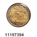 Réf. 11197394 20 Francs Suisse  Vreneli (LSP) - REVERS