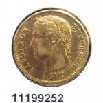 Réf. 11199252 Napoléon 40F  Napoléon Ier Tête Laurée Empire Français - REVERS