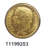 Réf. 11199253 Napoléon 40F  Napoléon Ier Tête Laurée Empire Français - REVERS