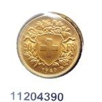 Réf. 11204390 20 Francs Suisse Vreneli (1935L, 1947 et 49)  - REVERS