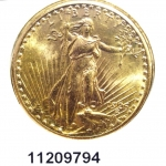 20 Dollars US (Double Eagle)  Liberty de Saint-Gaudens - Twenty Dollars
