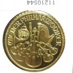 Réf. 11210544 Philharmonique de Vienne 1 once - 100 Euros  Golden Hall Organ - REVERS