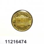Réf. 11216474 Philharmonique de Vienne 1/10 once - 10 Euros  Golden Hall Organ - REVERS