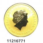 Réf. 11216771 Australian Nugget 1 once 100 Dollars Kangourou 2012 - REVERS