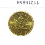 Réf. 11216956 Maple Leaf 1/4 once 10 Dollars Canada Elizabeth II avec tiare - REVERS