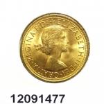 Réf. 12091477 Souverain Elisabeth II  Buste Lauré (1957-1968) - REVERS