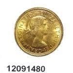 Réf. 12091480 Souverain Elisabeth II  Buste Lauré (1957-1968) - REVERS
