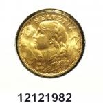 Réf. 12121982 20 Francs Suisse Vreneli (1935L, 1947 et 49)  - REVERS