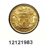 Réf. 12121983 20 Francs Suisse Vreneli (1935L, 1947 et 49)  - REVERS