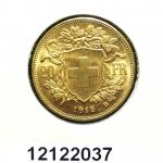 Réf. 12122037 20 Francs Suisse  Vreneli - REVERS