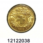 Réf. 12122038 20 Francs Suisse  Vreneli - REVERS