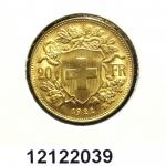 Réf. 12122039 20 Francs Suisse  Vreneli - REVERS