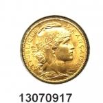 Napoléon 20F  Marianne Coq - Liberté Egalité Fraternité