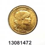 Réf. 13081472 Napoléon 20 Francs Marianne Coq - Liberté Egalité Fraternité - REVERS