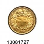 Réf. 13081727 20 Francs Suisse Vreneli (1935L, 1947 et 49)  - REVERS