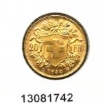 Réf. 13081742 20 Francs Suisse Vreneli (1935L, 1947 et 49)  - REVERS