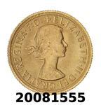 Réf. 20081555 Souverain Elisabeth II  Buste Lauré (1957-1968) (LSP) - REVERS
