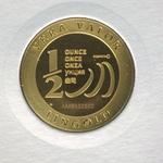 Réf. 6132522 Demi-Vera Valor (1/2 once LSP)  2013 - 5 langues - REVERS