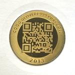 Réf. 6132550 Demi-Vera Valor (1/2 once LSP)  2013 - 5 langues - REVERS