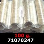 Réf. 71070247 100 grammes d\'argent pur - 5 Francs Semeuses (LSP)  Issu d un lot de 1000 Semeuses 5F - REVERS