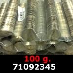 Réf. 71092345 100 grammes d\'argent pur - 5 Francs Semeuses (LSP)  Issu d un lot de 1000 Semeuses 5F - REVERS