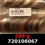 100 grammes d'argent pur - 50 Francs Hercule (LSP)  Issu d un lot de 1000 Hercule 50F