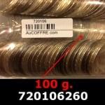 Réf. 720106260 100 grammes d\'argent pur - 50 Francs Hercule (LSP)  Issu d un lot de 1000 Hercule 50F - REVERS