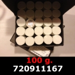Réf. 720911167 100 grammes d\'argent pur - Philharmonique de Vienne (LSP)  Issu d un lot de 1000 pièces d une once - REVERS