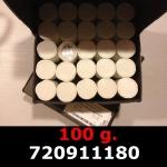 Réf. 720911180 100 grammes d\'argent pur - Philharmonique de Vienne (LSP)  Issu d un lot de 1000 pièces d une once - REVERS