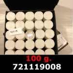 Réf. 721119008 100 grammes d\'argent pur - Philharmonique de Vienne (LSP)  Issu d un lot de 1000 pièces d une once - REVERS