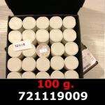 Réf. 721119009 100 grammes d\'argent pur - Philharmonique de Vienne (LSP)  Issu d un lot de 1000 pièces d une once - REVERS