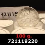 Réf. 721119220 100 grammes d\'argent pur - Philharmonique de Vienne (LSP)  Issu d un lot de 1000 pièces d une once - REVERS