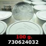 Réf. 730624032 100 grammes d\'argent pur - Philharmonique de Vienne (LSP)  Issu d un lot de 1000 pièces d une once - REVERS