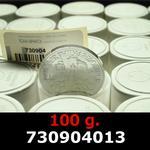 Réf. 730904013 100 grammes d\'argent pur - Philharmonique de Vienne (LSP)  Issu d un lot de 1000 pièces d une once - REVERS