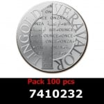 Lot 100 Vera Silver 1 once (LSP - 40MM)  2014
