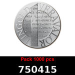 Lot 1000 Vera Silver 1 once (LSP)  2015