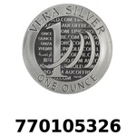 Réf. 770105326 Vera Silver 1 once (LSP)  2015 - 2eme type - REVERS