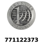 Réf. 771122373 Vera Silver 1 once (LSP)  2015 - 2eme type - REVERS