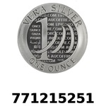 Réf. 771215251 Vera Silver 1 once (LSP)  2015 - 2eme type - REVERS