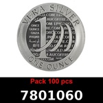 Lot 100 Vera Silver 1 once (LSP - 40MM)  2015 - 2eme type