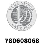 Réf. 780608068 Vera Silver 1 once (LSP)  2018 - REVERS