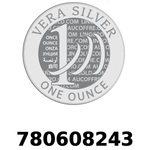 Réf. 780608243 Vera Silver 1 once (LSP)  2018 - REVERS